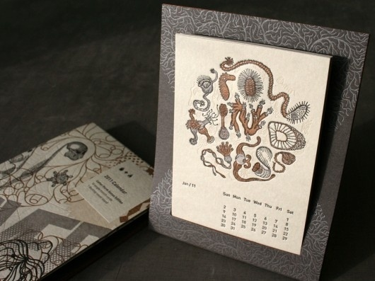 WANKEN - The Blog of Shelby White » Studio On Fire Letterpress Calendar Giveaway #calendar #letterpress #on #fire #studio