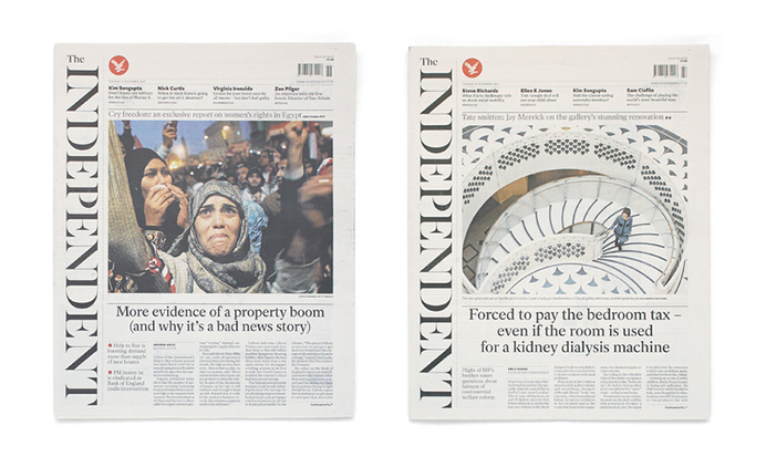 #layout #newspaper #theindependant http://www.mattwilley.co.uk/The-Independent-Newspaper