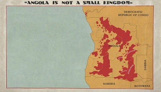 Angola is not a small Kingdom | The Gopher Hole #angola #gopher #hole #exhibition #poster #moreira #paulo