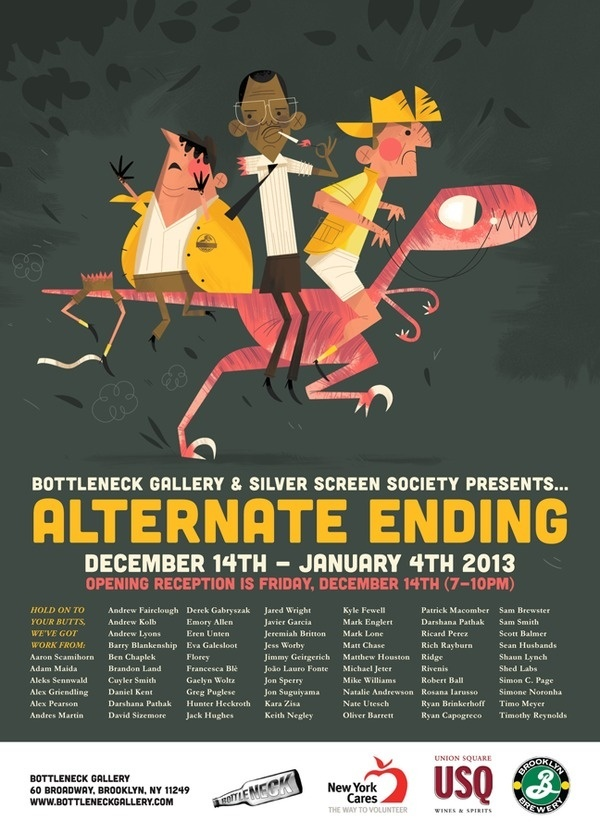 Alternate Ending - Silver Screen Society #silver #ending #screen #illustration #alternate #movies #society