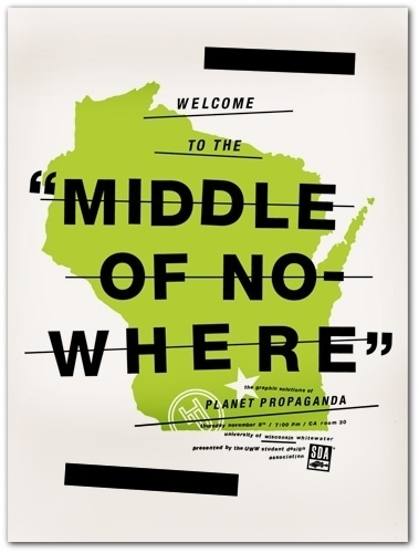 Middle Of Nowhere : Mike Krol #mike #krol #poster
