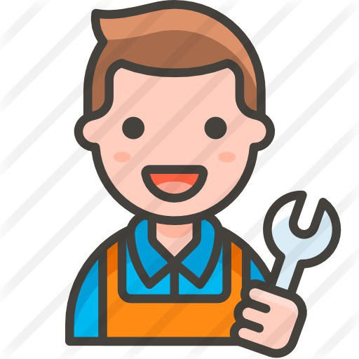 See more icon inspiration related to man, professions and jobs, smileys, occupation, worker, job, user, mechanic and avatar on Flaticon.