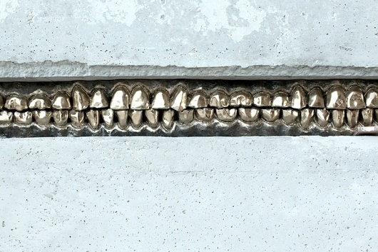 #teeth #sculpture #scull #installation