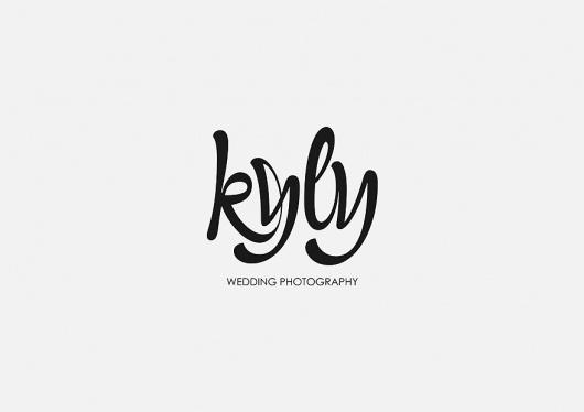kyly - Logos - Creattica #handwriting #logo #script #typography