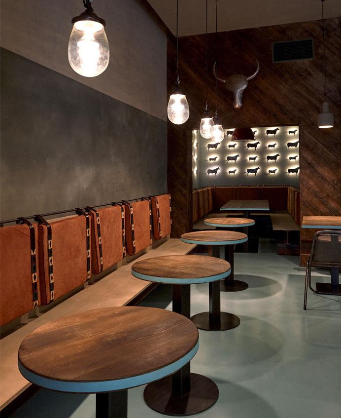 Gran Fierro Restaurant by Formafatal - restaurant, restaurant design, restaurant decor, retail design, #restaurant