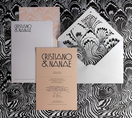 All - A Friend Of Mine #wedding #design #graphic #invitation