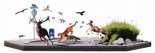 Paintings - Josh Keyes #painting #animals
