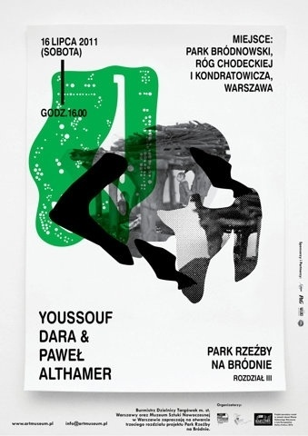 FFFFOUND!   All sizes   The Museum of Modern Art in Warsaw / sculpture park III poster v2   Flickr - Photo Sharing! #print #poster #typography