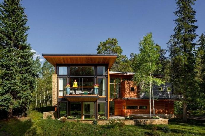 Schultz House - Impressive Architecture and Delighting Interior Design in Colorado