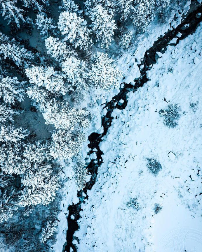 #dronefly: Striking Drone Photography by Austin Divine