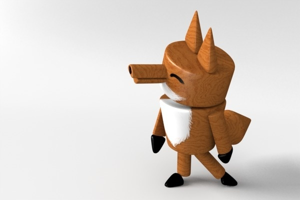 The little fox on the Behance Network #character