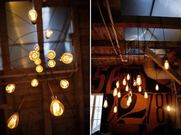 Mattson Creative: SND CYN Studios #interior #type #lights #numbers