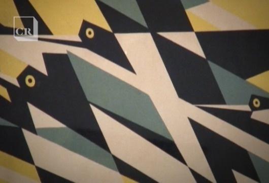 Creative Review - CR Film: Edward McKnight Kauffer #birds #kauffer #design #geometric