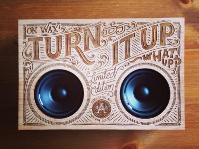 Wooden Boombox #type
