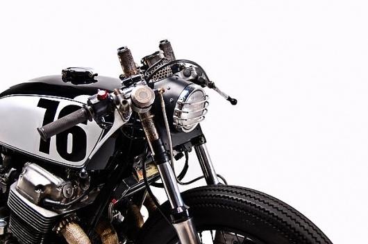 1976 Honda CB750 #caf #racer #motorcycle #honda #cb750
