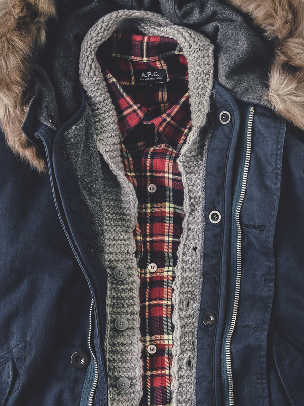 apartment number 9 #sweater #red #clothes #cold #fur #coat #flannel #winter