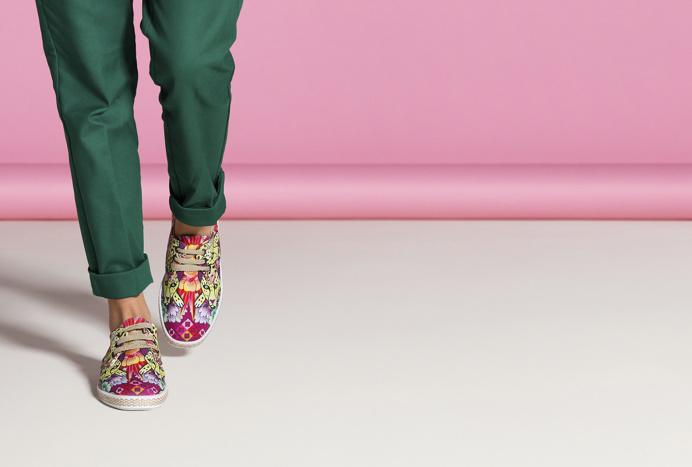 arrels shoes ad colorful color beauty beautiful new modern spain spanish studio design hay corporate designer photography branding brand mod