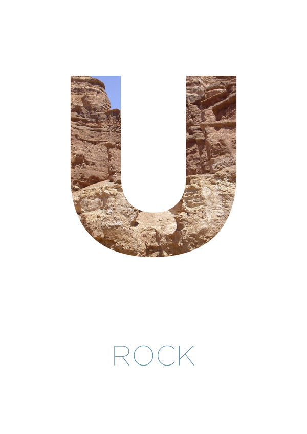 Alpha Bet typography experiment #font #lettering #rock #alphabet #typo #experiment #typography