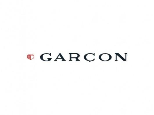 Garcon Brand #red #black #brand #identity #garcon #logo