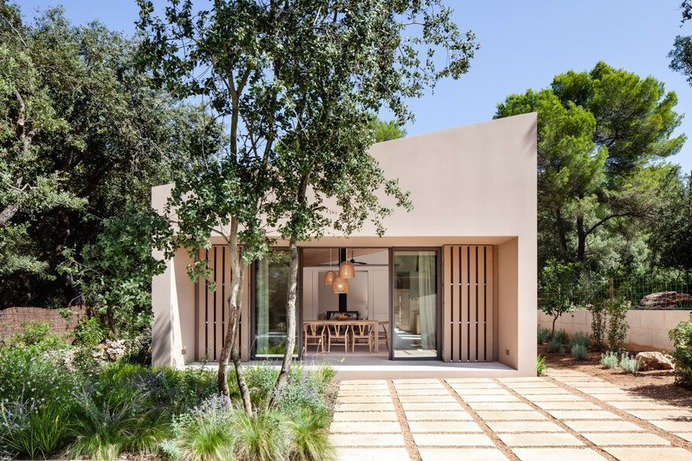 Spanish Coastal House with Large Outdoor Living Areas