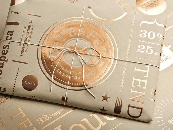 lg2 boutique via www.mr cup.com #foil #typography