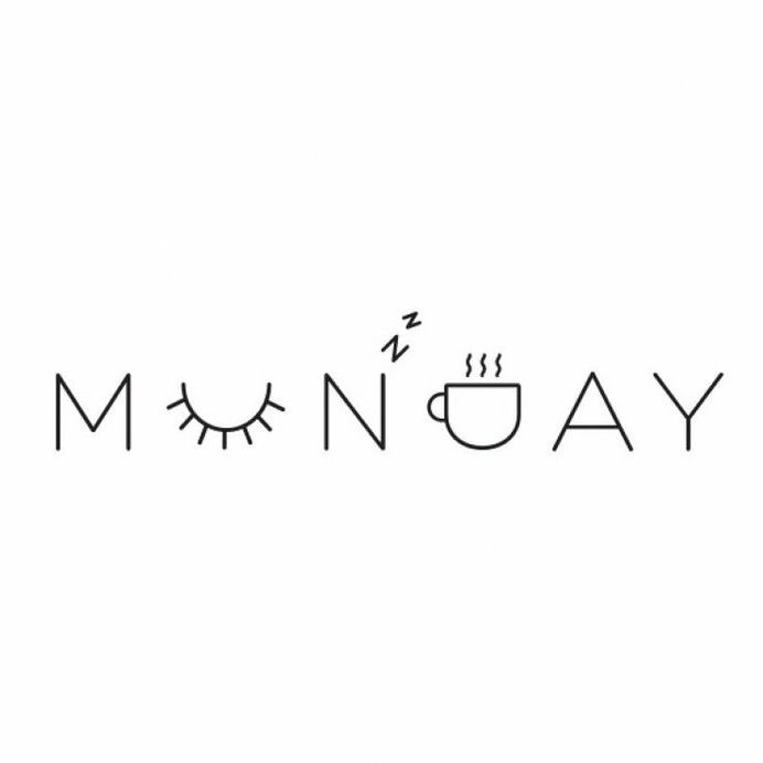 Monday – Typography #coffee #lettering #monday #typography