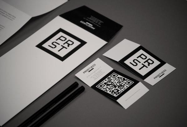 ProStudio Branding on Behance #maandesign #helder #stationary #letterpaper #card #maan #letter #identity #glitch #envelope #personal #prostudio #prst #pencil #paper