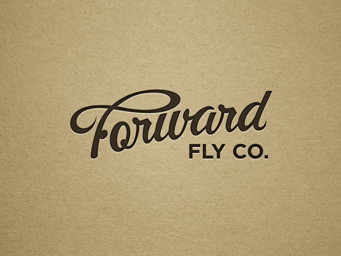 Forward Fly Logo - Zach Johnson Design