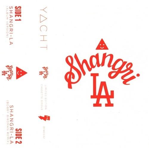 DFA Records — YACHT - Shangri-La Cassingle + Smiangle Sticker! #yacht