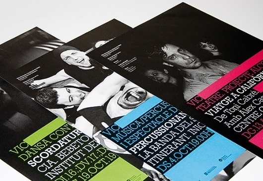 Looks like good Graphic Design by Bisgrà fic #design #photography #poster #cmyk #typography