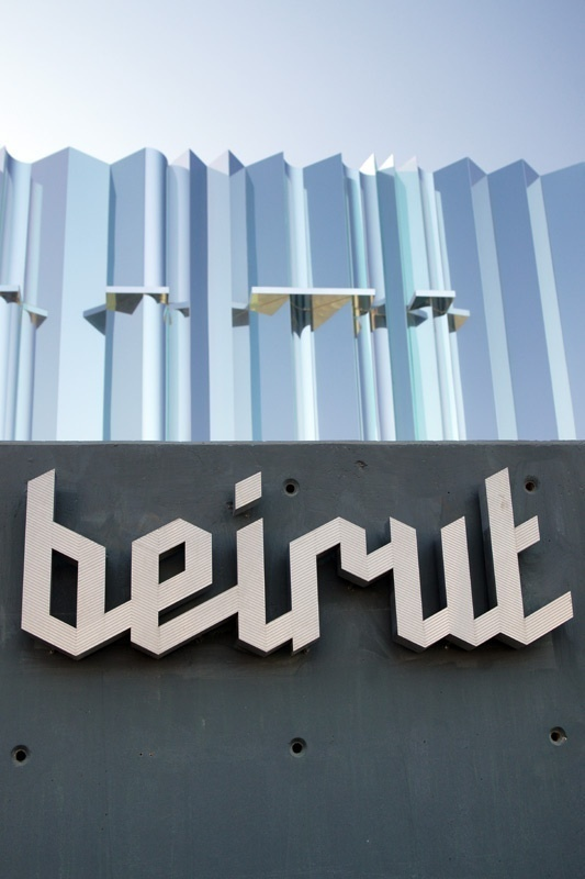 Beirut #signage #type #script #logo
