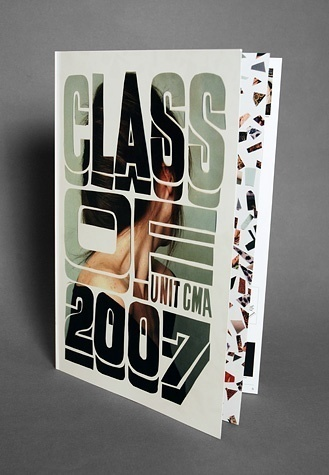 Class of 2007 #design #graphic #typography