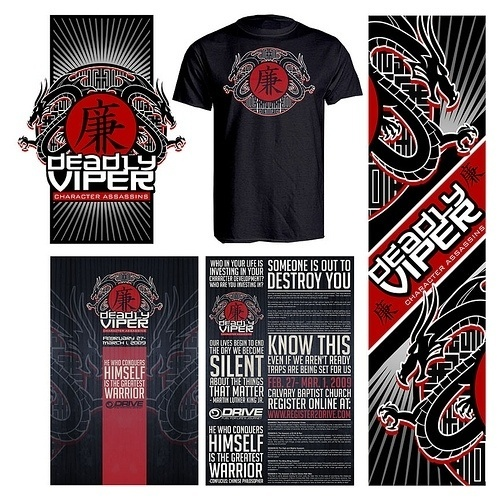 All sizes | DeadlyViper | Flickr - Photo Sharing! #bulletin #church #sermon #tshirt #poster #slides