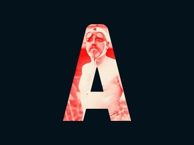Dribbble - Human-American (GIF) by Bobby McKenna #typeface