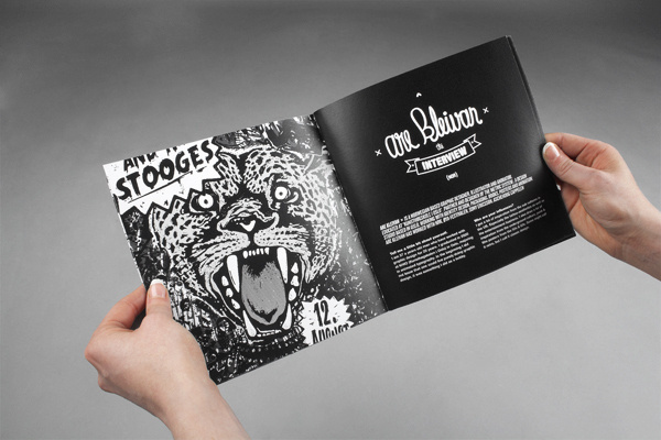 The Gig Poster Project on Behance #leopard #n #rock #print #gig #roll #poster #booklet