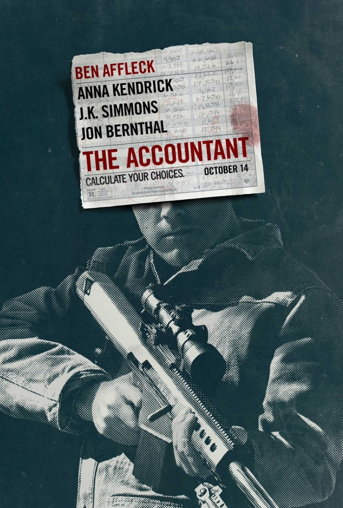The Accountant (2016) ben affleck #poster #film #cinema #movie