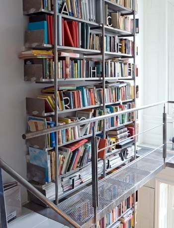 CONVOY #interiors #bookcase #balcony #architecture #metal