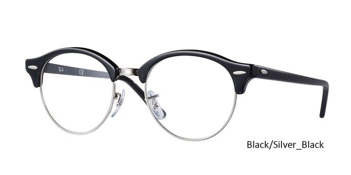 """Ray Ban RX4246V CLUBROUND OPTICS with Special discount offer get 45% holiday discount on all ray ban! Coupon code: """"RB-HD45"""" valid for one month & 1 year manufacturer warranty at Daniel Walters"""