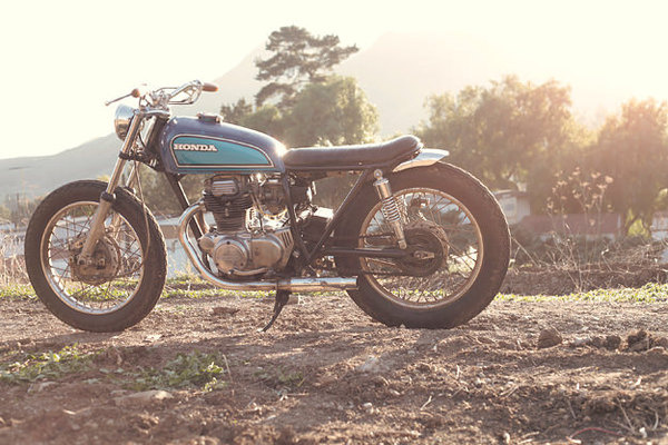 Honda CB360 Minimalist Motorcycle