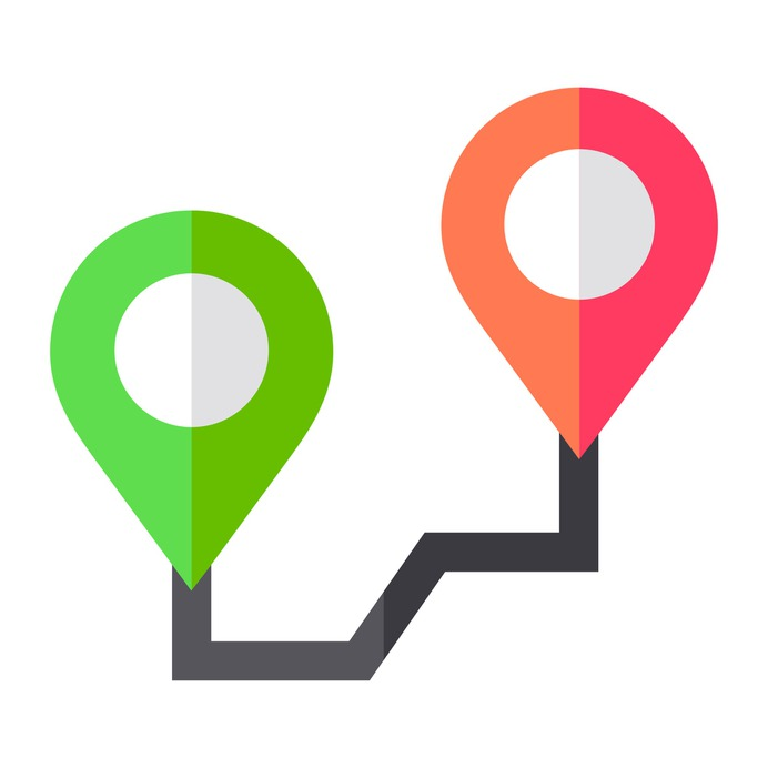 See more icon inspiration related to gps, pin, marker, maps and location, pointer, navigation, orientation and location on Flaticon.