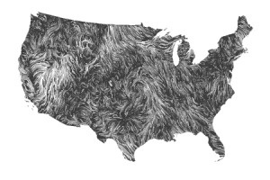 Wind Map: Gallery #wind #map