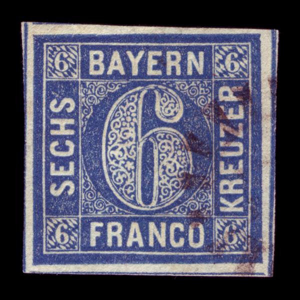 stamp #stamp #six #bavaria