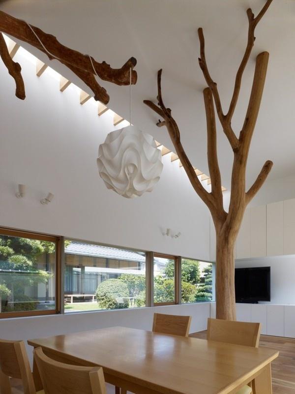 Best House Architecture Garden Tree Hironaka Images On Designspiration