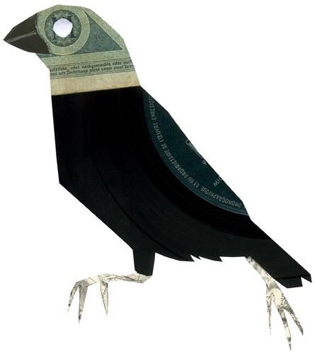 Clemens Habicht #illustration #collage #animal #bird