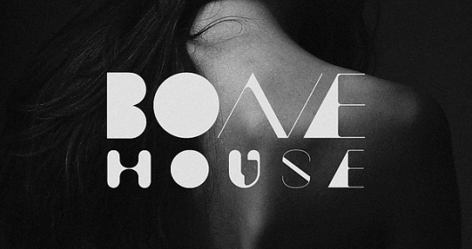 Bone House on yay!everyday #bone #house #typography