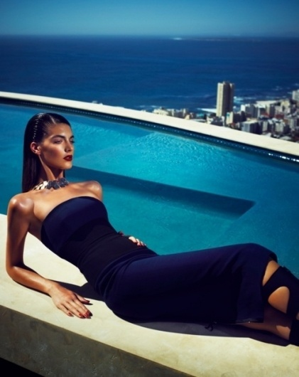 Merde! - Fashion photography (Katryn Kruger by James... #fashion