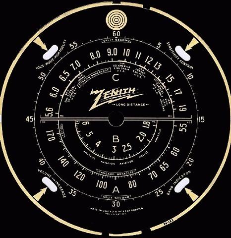 FFFFOUND! | Antique Radio Tuning Dials 1 #vintage