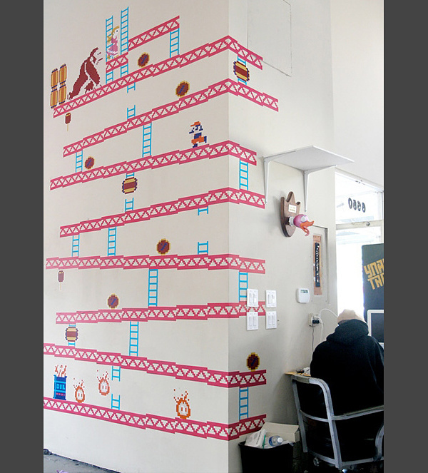 Donkey Kong Wall Decals #decal #fun #design #for