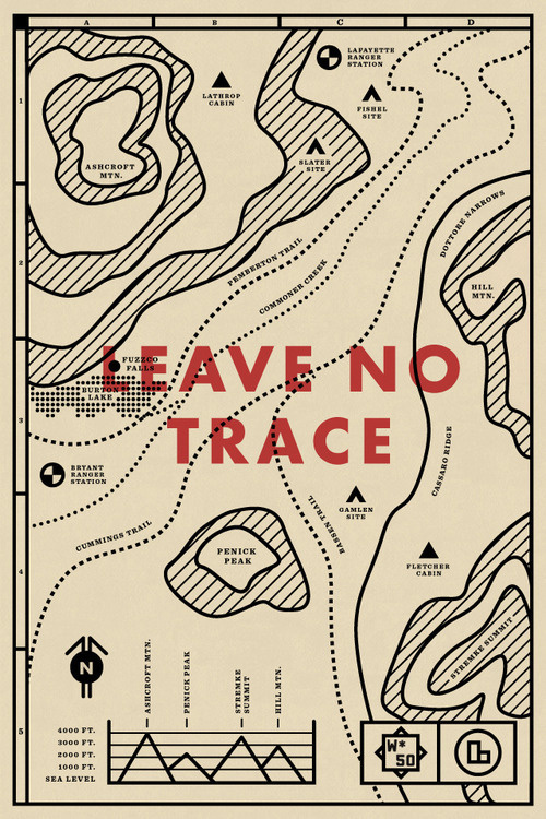 No. 50 / Travis Ladue #design #illustration #maps #cartography #line drawing