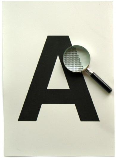 Poster #letter #lens #poster #typography